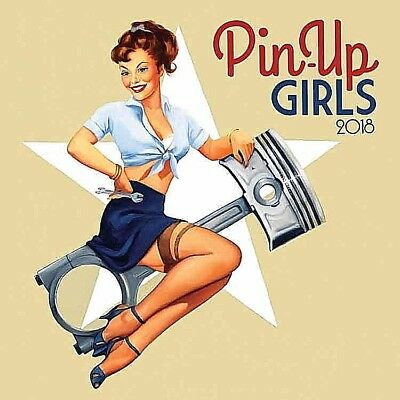 """Pin Up Girls Calendar 2018 With """"free"""" Uk Tracked Delivery"""