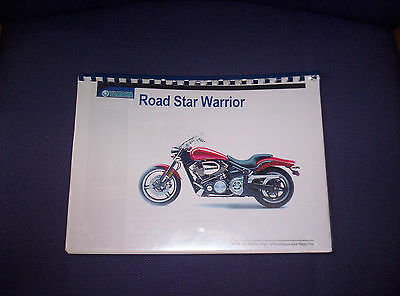 Yamaha Road Star Warrior Workshop Manual Book Genuine Yamaha Free Post