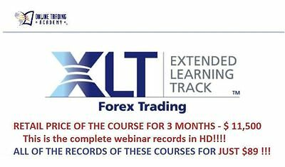 The Professional Forex Trader Course - Online Trading Academy - Xlt