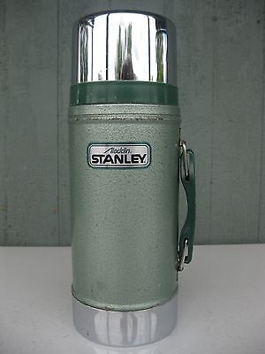 Aladdin Stanley 24oz. WIDE MOUTH Thermos A-1350B Good Used Condition