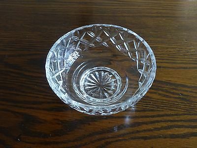 Webb Corbett cut glass crystal fruit dishes