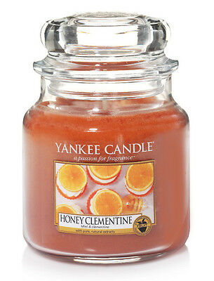 Miel & clémentine - Bougie moyenne jarre - Yankee Candle