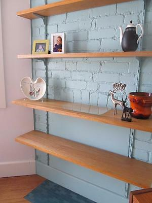 ONE ONLY Vintage 70s Solid Meranti Wooden Timber Shelf 1630 x 430 W Footscray