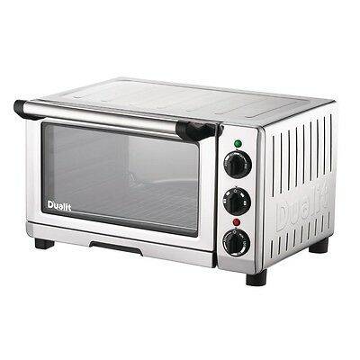 Dualit Mini Electric Convection Oven 89200 1.3kW 250x360x420mm Roasting Kitchen