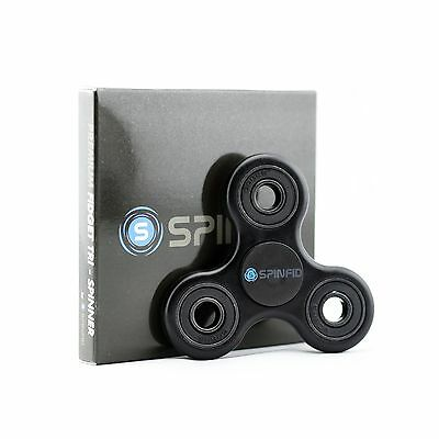 SpinFid Fidget Tri-Spinner w/ Ultra Durable Frame and 3+ Min Spin Time (M... New