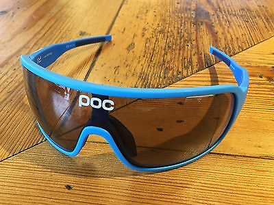 POC Do Blade Raceday Cycling Glasses – Garminum Blue – GENUINE!