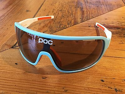POC Do Blade Larsson Edition Cycling Glasses – Blue/Hydrogen White – GENUINE!