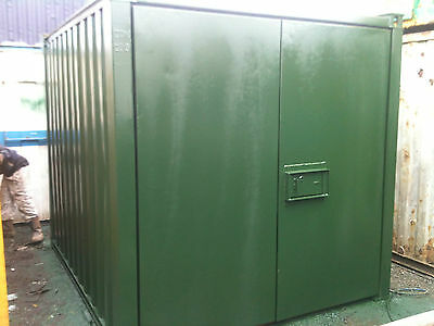 10ft x 8 ft Shipping Container - manchester