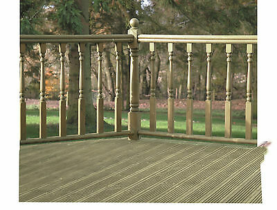 Decking Handrail Sections (Various Sizes) FREE DELIVERY
