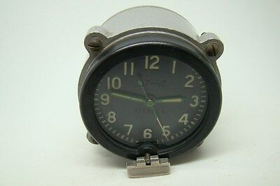 127-ChS Clock for the Soviet tank MADE in USSR AChS  Aircraft  MIG SERVICED