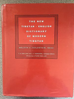 The new tibetan english dictionary of modern tibetan by Melvyn C.Goldstain
