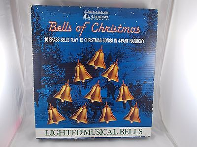 Mr Christmas Bells of Christmas Lighted Musical 15 Songs