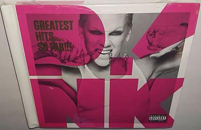 Pink Greatest Hits So Far (Deluxe Edition) Brand New Sealed Digibook Cd Dvd