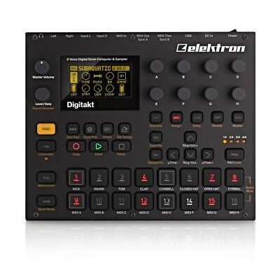 Elektron Digitakt Sampling Drum Machine & Sequencer