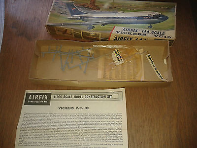 Airfix 144 scale Vickers VC10 box only no model kit