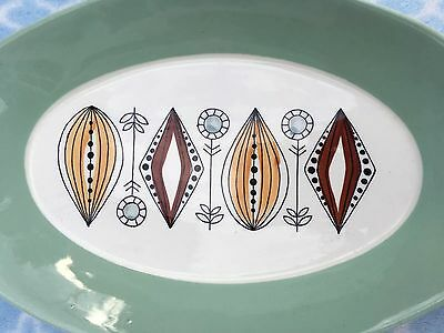 Egersund Flint Norway Vintage Dish Lovely Scandinavian Mid Century Art Pottery