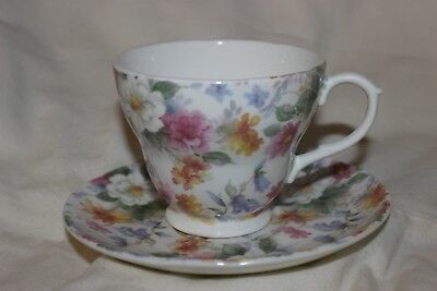 Large size breakfast Cup And Saucer cockerel