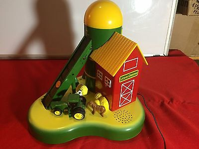 USED JOHN DEERE Coin Sorter DELUXE  ACTION - MECHANICAL BANK w/SOUND
