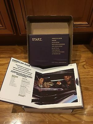 STARZ 2017 Emmy FYC DVDs American Gods Power Black Sails The White Princess