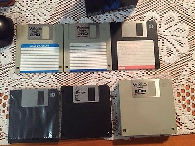 "HD 3.5""  diskettes pack of 12 x 1.44mb. 9 new / 3 used"