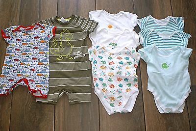 GEORGE MINICLUB H&M boys vests playsuits bundle, 6-9 months, OTHER ITEMS