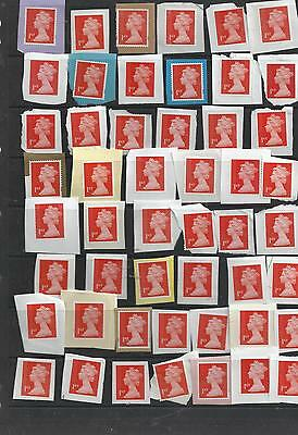 GREAT BRITAIN  50 x1ST CLASS SECURITY UNFRANKED   REF F40