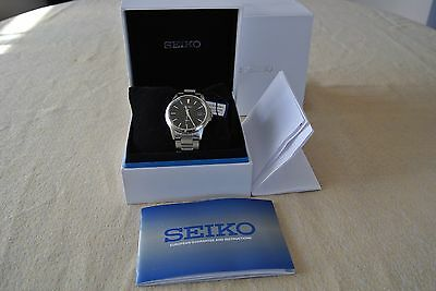 SQNP SGEF51P1 Seiko Mens Gents Date Display Stainless Steel Bracelet Watch