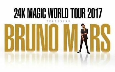 2 X Bruno Mars Vip Hot Seat Package Tickets | Melbourne Tour!
