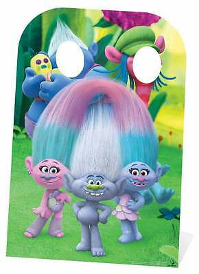 Trolls Biggie and Cooper Child Size Cardboard Cutout Stand-In  *Damaged*