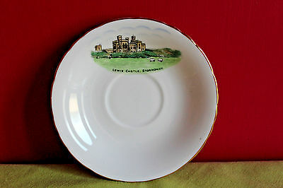 H & M Sutherland China Saucer feat. Lewis Castle Stornoway
