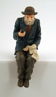 Doll House 1/12Th Scale Resin Old Man Sitting(Dp310)