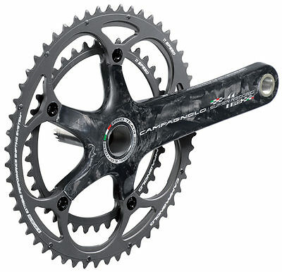 BRAND NEW Campagnolo Super Record RS Ti-Carb 175mm 39/53 Crankset RRP £604.99