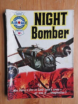 Air Ace Picture Library #154 - Night Bomber VG Fleetway