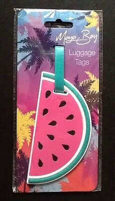 Suitcase Travel Luggage Tags  Suitcase Tag Label Water Melon