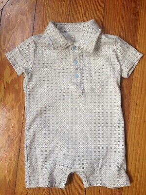 Tea Collection Boys Baby One Piece Summer Romper 3-6 Months