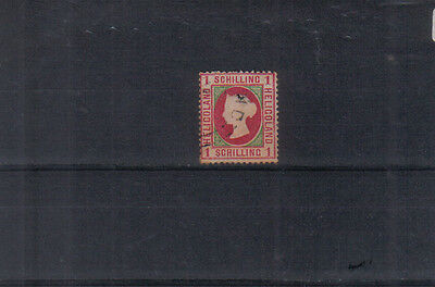 Heligoland 1869-73 1sch used