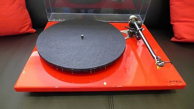 Rega RP6 turntable in Gloss Red with Exact