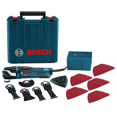 Bosch GOP40-30C StarlockPlus Oscillating Multi-Tool Kit w/ 5 Blades new Electric