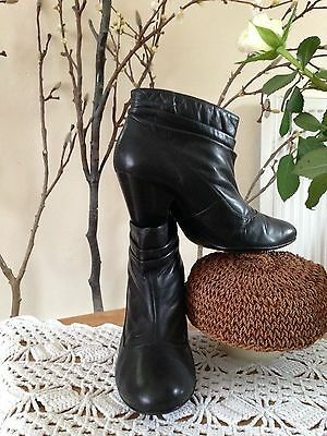 Red Herring Leather Black Women's Boots. Size Uk 5. Used