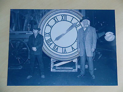 Back To The Future 3 RARE Prop - 1885 Clock Photo Doc & Marty - FREE UK POSTAGE