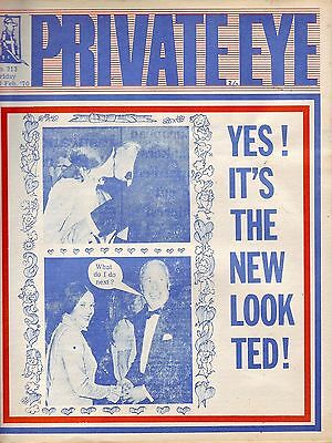 PRIVATE EYE 213 - 13 Feb 1970 - Ted Heath - YES! IT'S THE NEW LOOK TED!