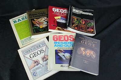 Commodore 64 C64 Books: 5 GEOS, Master Guide to CompuServe & Calculating w/Basic