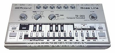 ROLAND TB-303 BASS LINE *Pro-serviced & Guaranteed* Vintage Analog Synth