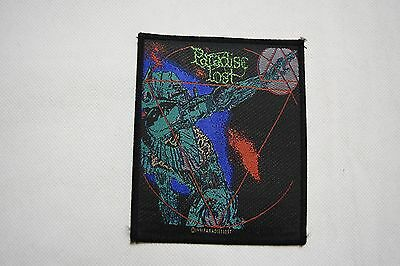 Paradise Lost Lost Paradise Debut Album Cover Logo Woven Patch New Official Rare