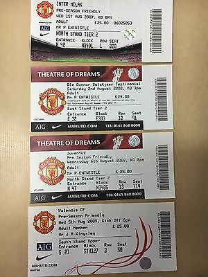 4 Manchester United Friendly Tickets