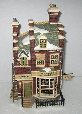 Dept 56 Dickens Village  Scrooge & Marley Counting House