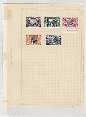 British Empire St Helena Mounted Mint Stamps on Page Ref: R6251