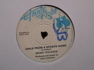 """Sidney Rodgers """" Child From A Broken Home """" Ex- Cond."""