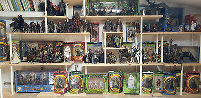 lord of the rings SPECTACULAR COLLECTION FIGURES MORE OF 262 FIGURES
