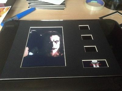 NEW The Crow 10 x 8 film cell display